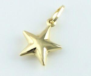 9ct Gold Star Charm / Pendant New!