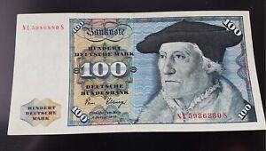 100 Deutsch Mark Bank Note in EC