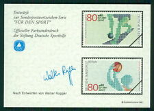 GERMANY SPORTS AID OLYMPIC COMMITTEE UNISSUED DESIGNS BASKETBALL BOWLING m2344