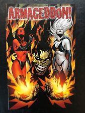 Armageddon 1 (1999, Chaos) Variant 1421/2,500 Lady Death Evil Ernie COA VF/NM b