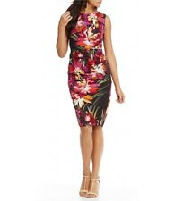 Nicole Miller Collection Floral Sheath Dress - Size 6 - NWT!