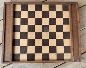 ancien jeu de dames en bois