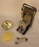 Vintage Polaroid 800 with BC Flash Model 281