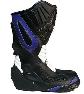 Bottes pour motos de course sur route avec PROTECTIONS ANTI TORSION antitorsion