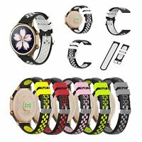 Pulseras silicona paraHuawei First Generation, Garmin vivoactive4S LGwatch style