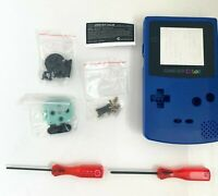 Replacement Housing for Nintendo Game Boy Color Lens GBC Shell Blue