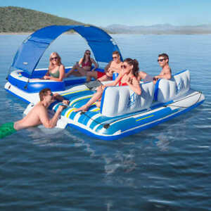 Bestway Tropical Breeze Floating Island 43105 Swimming Pool Inflatable Lounger