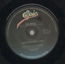 "SHAKIN STEVENS   Rare 1981 New Zealand Only 7"" OOP Epic Pop Single ""Oh Julie"""