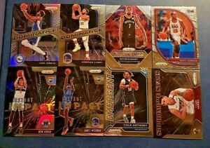 2020-21 Prizm Basketball Inserts with Rookies Silver and Green You Pick