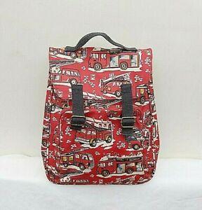 CATH KIDSTON KIDS RED LONDON BUS PRINT BACKPACK FREE UK P&P!!