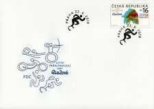 Czech Republic 2016 FDC Paralympics Rio 2016 1v Cover Sports Olympics Stamps