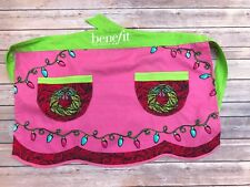 Benefit Cosmetics Apron Christmas One Size