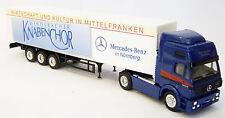 Herpa - MB SK Sattelzug LKW Wirtschaft Kultur Mittelfranken ION Nürnberg 1:87 H0