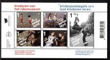 Nederland NVPH 3235 Vel Kinderzegels 2014 Postfris