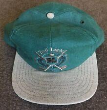 ef2bf103a12 Vintage Anheuser Busch Bud Light Canvas Golf Snapback Hat Cap EUC