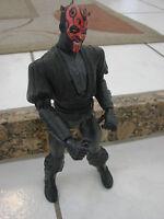 "12"" Darth maul Action Figure Twisting waist fighting Action Star Wars Hasbro"