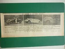 10/1935 PUB RENAULT FEMMES CABRIOLET PRIMAQUATRE COUPE COACH VIVA GRAND SPORT AD