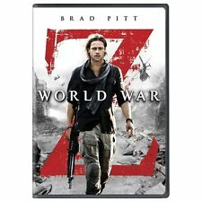 World War Z (DVD, 2013) Brad Pitt