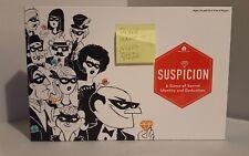 Suspicion Board Game - Deductive reason strategy 2 to 6 players COMPLETE Game