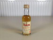 Mignonnette mini bottle non ouverte whisky john haig