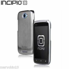 LR2 Silver Authentic T Mobile Incipio Protective Cover Skin Case for HTC One S