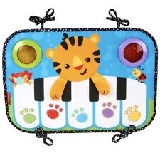 Fisher Price Kick & Play Piano Infant Toddler Tiger Music Light Interactive Mat