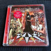 IRON MAIDEN  DANCE OF DEATH Very Rare Audio DVD heavy metal