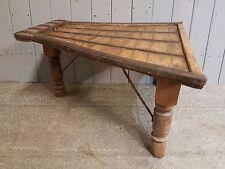 Vintage Antique Oak Coffee Table Nautical