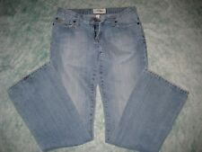 ABERCROMBIE Fitch womens girls blue jeans pants SZ 2 R W29 light Distressed Boot