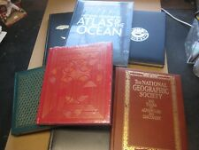 Lot of 7 National Geographic Society Hard Cover Books Ireland 2 Unopened 1980s