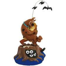 Scared Scooby-Doo & Shaggy Tealight Candle Holder Spooky with Bats & Ghouls