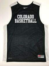 3b44025645d2 New Nike Men s L Colorado Buffaloes League Reversible Practice Tank Black