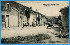 CPA: OURCHES - Rue de Neives / Guerre 14-18 / 1916