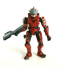 Halo McFarlane Action Figure - Series 3 - Spartan Soldier Hayabusa (Red)