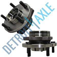 Set (2) NEW Front Driver and Passenger Complete Wheel Hub and Bearing Assembly