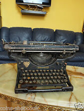 Vintage Antique 1929 Underwood  Typewriter Mechanical Writing Type Machine