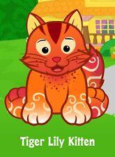 Webkinz Tiger Lily Kitten (unused code only ) Longtime Seller Proven Trustworthy