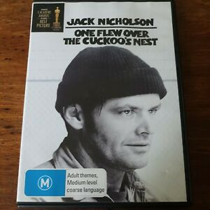 One Flew Over the Cuckoo's Nest DVD R4 Like New! FREE POST