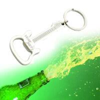 vin bière alliages de zinc la chaîne porte - clés ouvre - bouteille guitare