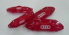 Audi Rings Logo High Temp Brake Caliper Decal Sticker Set Of 6 (ANY COLOR)