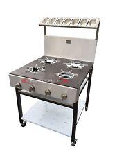 4 BURNER COMMERCIAL COOKER FOR RESTAURANT OR TAKEAWAY USE