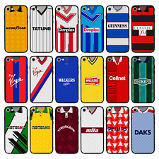 Protective Glass Back Case/Cover for iPhone 6 6s 7 8 PLUS X XS MAX XR / FOOTBALL