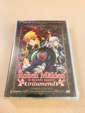 Rozen Maiden - Funimation / Geneon 3 DVD Box Set Out Of Print Sealed HTF