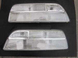 Rare!! All Clear Taillight Lenses Honda Acura Legend 2DR 91-95 JDM lenses