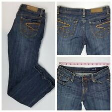 Seven7 Women's Premium Bootcut S Pocket Jeans Size 25 (26 x 29) EUC