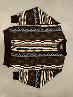 Vintage! Streetwear! Le Tigre Coogi Biggie Styles Style Rope Sweater M Crewneck