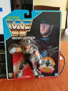 New Sealed WWF WWE Hasbro THE UNDERTAKER Series 4  MOC Wrestling Figure