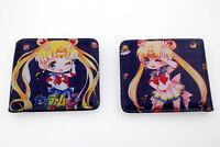 New Sailor Moon Leather PU Wallet Holder Layers Bag Short Purse Otaku Gift