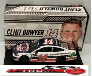 Clint Bowyer 2020 Lionel #14 Barstool Sports Patriotic Ford Mustang 1/24 FREE
