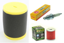 Tune up Kit Oil + Air Filter Spark Plug Suzuki King Quad 300 Quadrunner 250 LT-F